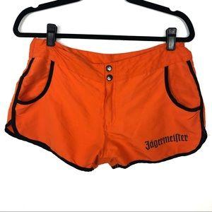 JAGERMEISTER orange alcholic drink shorts J28